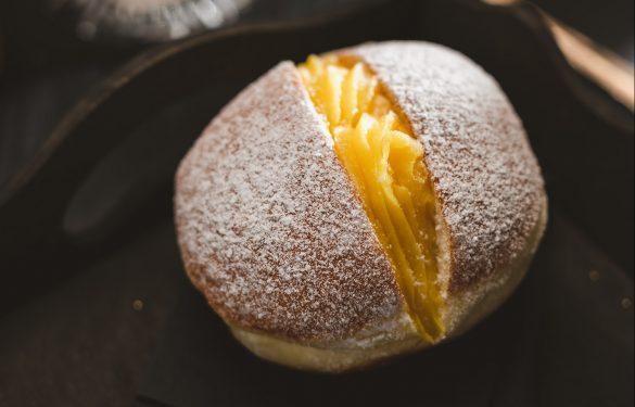 Pudding-Krapfen
