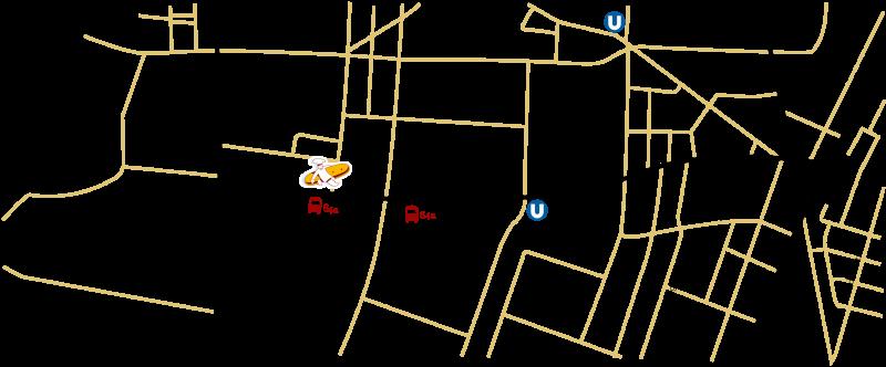 Anfahrt zum Brotway der Bäckerei Der Mann